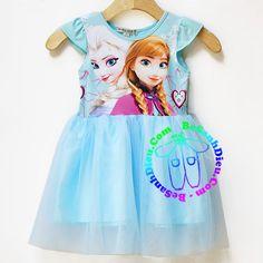 Đầm Elsa - Nữ hoàng Băng Giá cho bé gái từ 11kg đến 32kg màu xanh biển Quần áo bé gái Đầm thun Elsa - Nữ hoàng Băng Giá, hàng VN may lên. Chất vải thun cotton 4 chiều, mềm mại, mịn, mát. Tùng áo lớp trong là vải thun, lớp ngoài là vải voan, mềm nhẹ, rất xinh.