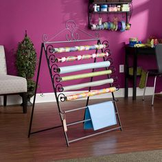 Verosa Wall Mount Craft Rack...can be used as an easel to wall mount