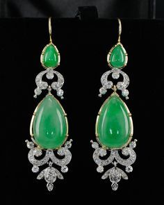 Resultado de imagen para jade earrings