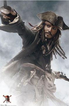 Pirates Of The Caribbean 3 Jack Sparrow Poster 24inx36in (61cm x 91cm)