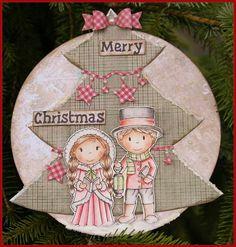 Shape Art Kerstboom door Martine