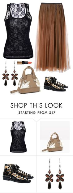 """""""Untitled #1607"""" by naviaux ❤ liked on Polyvore featuring Marni, Max&Co., Toga, De Buman and Bobbi Brown Cosmetics"""