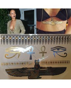 Rihanna Egypt Flash Tattoo Geçici Dövme 203 Son dönemin modası altın ve gümüş desenli flash tattoo gold tattoo geçici dövmeler Leydika.com'da! #flashtattoo #flashtats #dövme #tattoo #altındövme #altindovme #geçicidövme #altın #gümüş #aksesuar #trend #style #fashion #parlakdövme #parlakdovme #moda #gecicidovme #bodrum #cesme #plajmodasi #girlingtattoo #flashtattoos #silvertattoos #temporarytattoos #jewelrytattoos