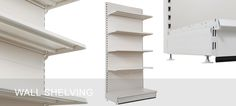 At we don't just sell shelves. We really do provide help with your shopfittings and shop shelving from start to fi.