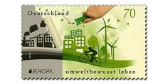 EUROPA Stamps 2016 : Think Green – Germany