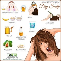 Home remedies for dry scalp beauty ideas Natural Cough Remedies, Natural Health Remedies, Natural Cures, Herbal Remedies, Top 10 Home Remedies, Natural Hair, Natural Beauty, Dry Scalp Remedy, Scalp Scrub