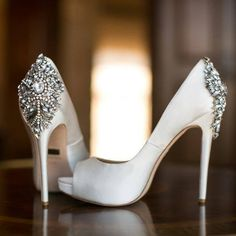 Shoes For Brides - So many things to do to plan a wedding, and a big thing, of course is SHOES SHOES SHOES! - Rachel Sheridan