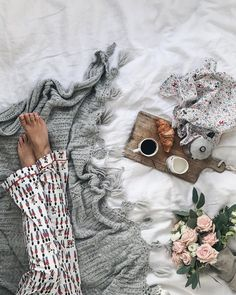 Here's to chilly mornings, cosy pjs and breakfasts in bed ☺️☕️🥐🌸 My pjs, dish towel and ceramics are from the new range… Breakfast In Bed, Dish Towels, Hygge, Pjs, Ceramics, Dishes, Mornings, Instagram, Prada
