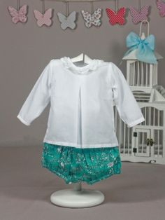 Blusa bebé blanca