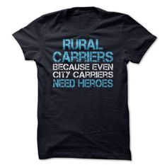 Rural mail carrier Postal hero T-Shirts, Hoodies (19$ ==►► Shopping Here!)