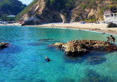 Cada una de estas playas mexicanas parece haber sido diseñada por computadora, pero no, son bellezas naturales que ofrecen postales maravillosas a los viajeros