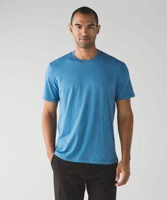 Men's Short Sleeve Top - (Blue, Size X