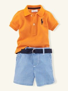 my little log has an outfit just like this but cost probably an 8th the cost of this since this is polo....i prefer carters :-P