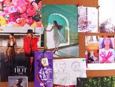 Sabrina Brett's Mixed Media Art Blog: Manifesting Reveries: Inspiration Board Spring 2015