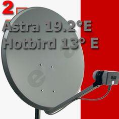 Maltesische Satelliten Sender :: Montageanleitung Malta- Komplettanlage Astra 19 und Hotbird 13