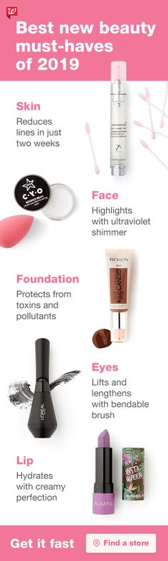 Makeup products drugstore walgreens 25 New Ideas Beauty Nails, Beauty Skin, Hair Beauty, Makeup Must Haves, Beauty Must Haves, Beauty Consultant, I Love Makeup, Drugstore Makeup, Pink Lips