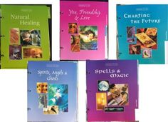 RARE-COMPLETE-MINT-ENHANCING-YOUR-MIND-BODY-SPIRIT-5-Sect-4-Binders-ACCESSORIES