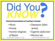 Help increase awareness about Cushings Syndrome/Disease