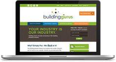 Building Gurus Website | Custom Design + Development: http://buildinggurus.com/