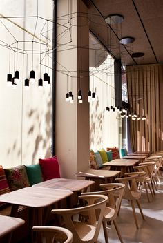 Barton, Barcelona: contemporary cuisine and eclectic design - Wireflow by Vibia for Isabel López Vilalta's project @vibialight