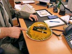 stapler inside jelly prank
