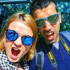 Travel beasts!!! Ok in reality we were bored and waiting for the bus so we decided to take selfies - - - - - - - - - - - - - #selfie #instagood #travel #traveler #relationshipgoals #couplegoals #beastmode #berlin #germany #europe #travelblogger #travelphotography #tourist #tuesday #nikon #adventure #adventuretime #vlog #travelstyle #rawr #beasts #love #couple #relationship #happy #goodvibes