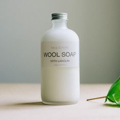 Wool Soap from Twig & Horn