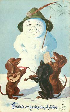 vintage Oilette postcard