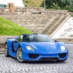 Awesome Porsche 2017: Porsche 918 Spider painted in Arrow Blue w/ Weissach Package Photo taken by: J K... Check more at http://24cars.top/2017/porsche-2017-porsche-918-spider-painted-in-arrow-blue-w-weissach-package-photo-taken-by-j-k/