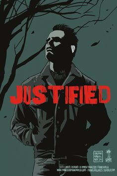 francavillarts:  ~~ BOYD CROWDER ~~JUSTIFIED Poster Art by Francesco Francavilla After another great episode of JUSTIFIED on FX last night, ...