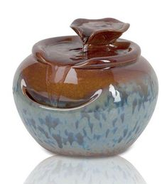 Lily Ceramic Tabletop Fountain