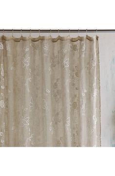 John Robshaw Totem Shower Curtain Horchow