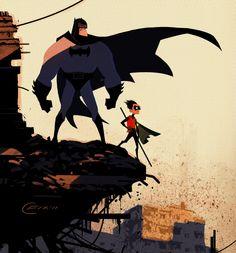 Batman and Robin by Colin Fix