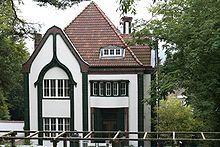 Peter Behrens' house in Darmstadt