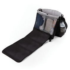 Skip Hop Swift Changing Station Nappy Diaper Bag - Black