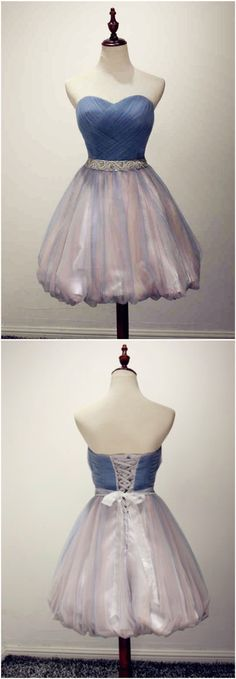 Custom made-to-order formal dress by GemGrace. Multiple colors and all sizes available. Additional photos also available upon request. A-line Multi Color Sweetheart Beading Chiffon Prom Dress 2016, Homecoming Dress 2016