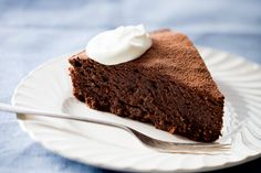 This decadent chocolate cake tastes so fantastic that you won't believe how many healthy ingredients are inside.