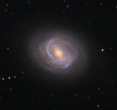 M 58 One of the brightest galaxies in Virgo cluster .