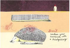 London-based Glaswegian designer and illustrator Harriet Russell via magpie & whiskeyjack: Going Postal