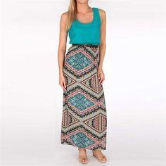 #Von Maur                 #Skirt                    #Wish #Juniors #Maxi #Dress #with #Printed #Skirt #Maur                       As U Wish Juniors Maxi Dress with Printed Skirt at Von Maur                                             http://www.seapai.com/product.aspx?PID=978143