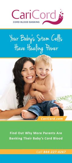 Get a free brochure on cord blood banking caricord.com