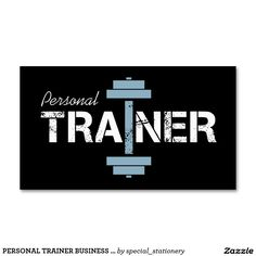 PERSONAL TRAINER BUSINESS CARDS | RUSTIC MILITARY