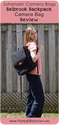 Jo Totes Belbrook Camera Backpack Bag Review by www.RaisingMemories.com