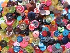 Bulk Buttons, any sizes, colors