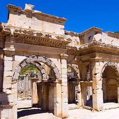 """Mazaeus-Mithridates Gate, Ephesus  Turkey  Best Known For Family, Adventure, History, Architecture  Best time of year: May-June, September-October"