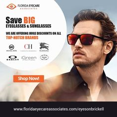 Discover the most excellent collection of eyeglasses and sunglasses at Eyes On Brickell Optical Boutique. We are a unique, full service optical boutique, offering high quality eye care services and products. For more info, visit http://floridaeyecareassociates.com/eyesonbrickell -----  #EyeCare #EyeWear #Sunglasses #Prescription #Glasses #ContactLens #Authentic #Branded #Armani #Gucci #HugoBoss #Prada #JimmyChoo #EyesOnBrickell #Brickell #Miami #Florida