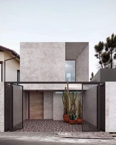 New House Luxury Exterior Facades 25 Ideas Minimalist Architecture, Modern Architecture House, Modern House Design, Amazing Architecture, Architecture Design, Modern Tropical House, Facade Design, Exterior Design, Modern Exterior