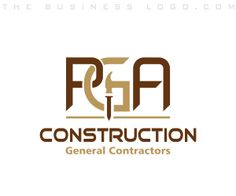 Great construction company logos and names construction company thebusinesslogo affordable custom logo design services make your business look better than your competitors malvernweather Images