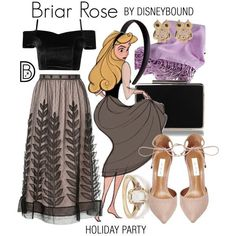 DisneyBound is meant to be inspiration for you to pull together your own outfits which work for your body and wallet whether from your closet or local mall. As to Disney artwork/properties: ©Disney Disney Princess Outfits, Cute Disney Outfits, Disney Themed Outfits, Disney Bound Outfits, Disney Dresses, Cool Outfits, Fashion Outfits, Moda Disney, Estilo Disney