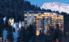 Ultra Exclusive hideaway in Switzerland TSCHUGGEN GRAND HOTEL & SPA BERGOASE in Arosa, offers magnificent and peaceful views.